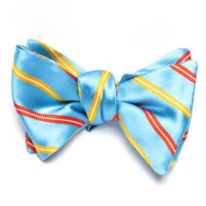 Blue-Yellow-OrangeStripes-Bowtie